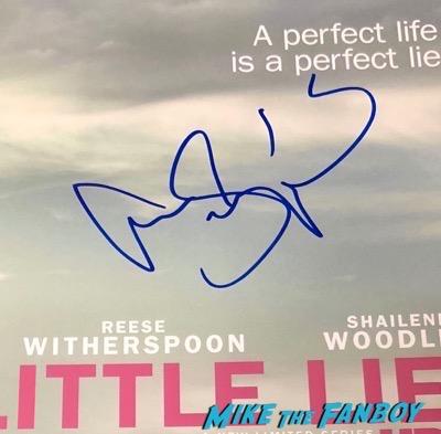 Alexander Skarsgard Signed Autograph Big Little Lies Poster PSA