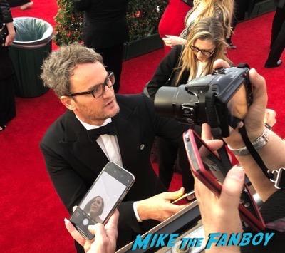 Jason Clarke Signing Autographs SAG Awards 2018 red carpet signing autographs 3