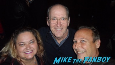 Richard Jenkins  with fans now