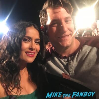 Salma Hayek meeting fans signing autographs palm springs film festival 3