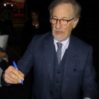 Steven Spielberg Signing Autographs Palm Springs Film Festival 2018