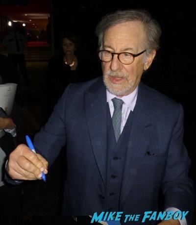 Steven Spielberg Signing Autographs Palm Springs Film Festival 2018