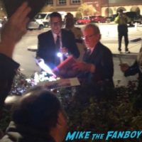 Steven Spielberg signing autographs Palm Springs Film Festival 20188