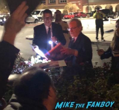 Steven Spielberg signing autographs Palm Springs Film Festival 20188