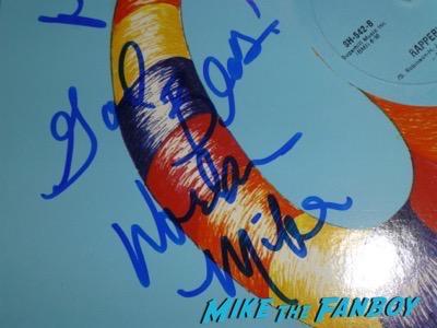 Sugar Hill Gang signed autograph album lp