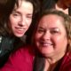 Sally Hawkins with fans now