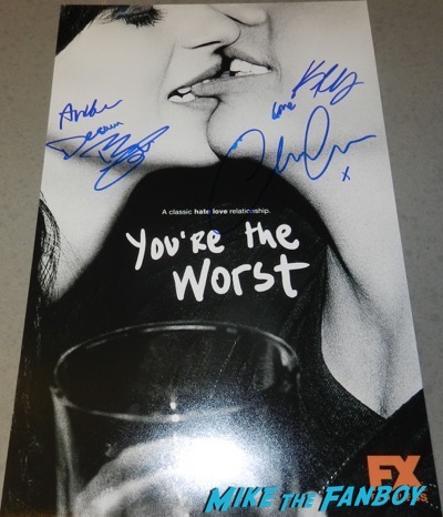 you're the worst signed autograph poster