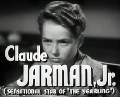 Claude Jarman Jr.