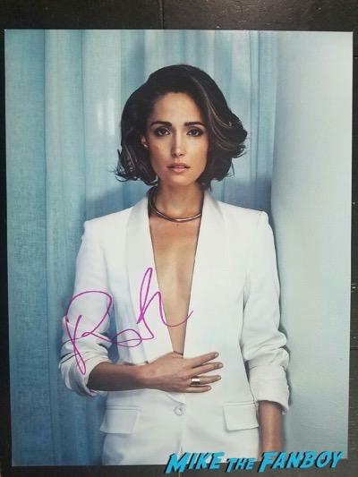 rose Bryne signed autograph photo