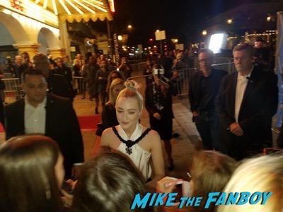 Saoirse Ronan meeting fans signing autographs santa barbara film festival 1