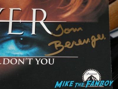 Tom Berenger signed autograph sliver poster psa