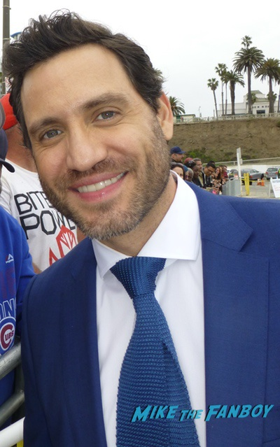 Edgar ramirez with fans