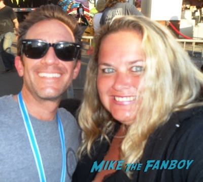 david faustino with fans Married with children cast reunion 0006