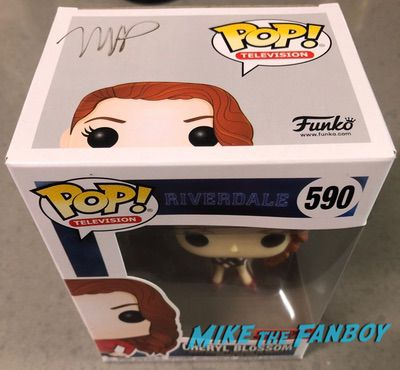 Madelaine Petsch signed autograph funko pop vinyl Cheryl riverdale