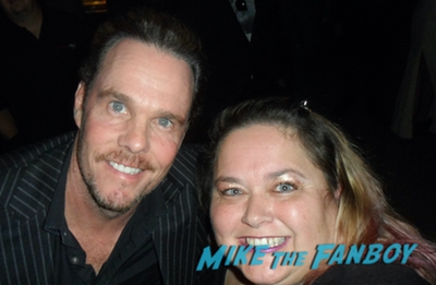 kevin dillon with fans signing autographs