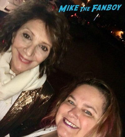 andrea martin signing autographs with fans