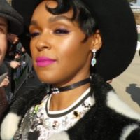 Janelle Monae oscar weekend meeting celebrities with fans 3