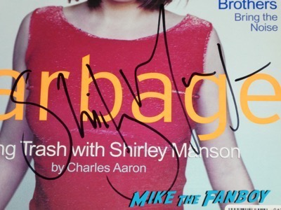 Shirley Manson Signed Spin Magazine oscar weekend meeting celebrities with fans 8