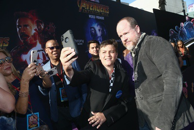 Avengers Infinity War Los Angeles Premiere Chris Pratt Elizabeth Olsen Scarlett Johansson Tom Holland Zoe Saldana And More Mike The Fanboy