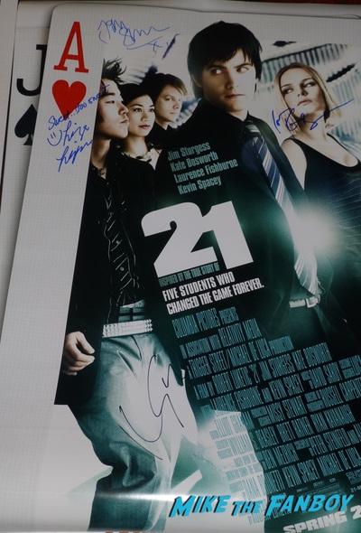 Liza Lapira signed autograph signature 21 poster