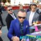 simon pegg singing autographs Ready Player One premiere los angeles signing autographssimon pegg singing autographs Ready Player One premiere los angeles signing autographs