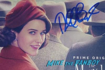 Rachel Brosnahan autograph signed mrs. Maisel record