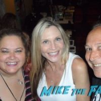 Amy Locane with fans Amy Locane with fans