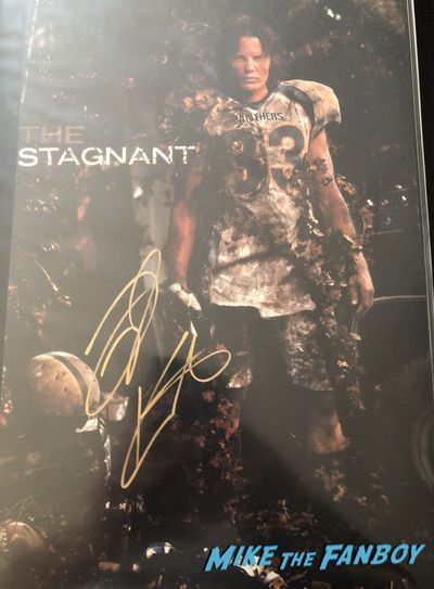 Taylor Kitsch signed Friday night lights poster psa tim riggins riggs