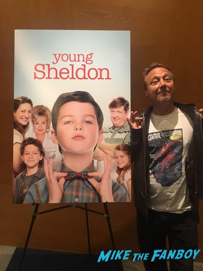 young Sheldon fyc event with fans 0008