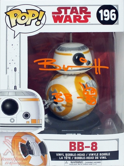 BB-8 Brian Herring signed autograph funko pop