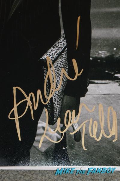 André Leon autograph signature