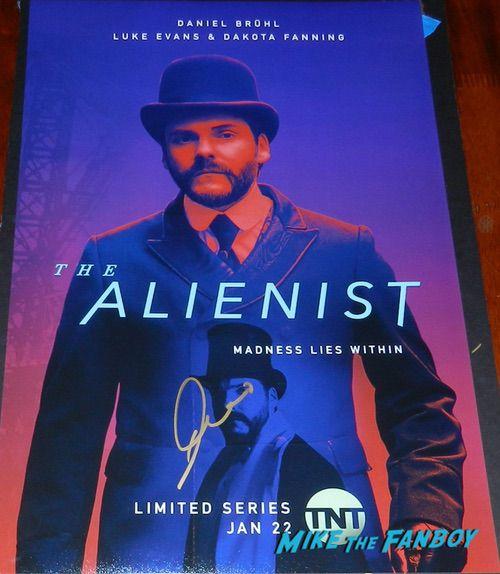 Daniel Brühl signed Autograph The Alienist Character poster rare psa