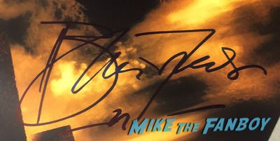 Brendan Fraser Signed Autograph The Mummy poster PSA