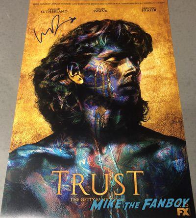 Harris Dickinson signed autograph trust poster psaHarris Dickinson signed autograph trust poster psa