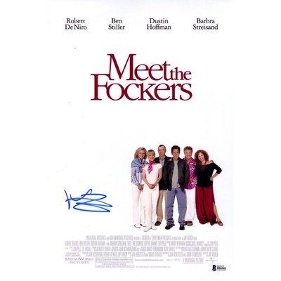 Ben Stiller signed autograph poster