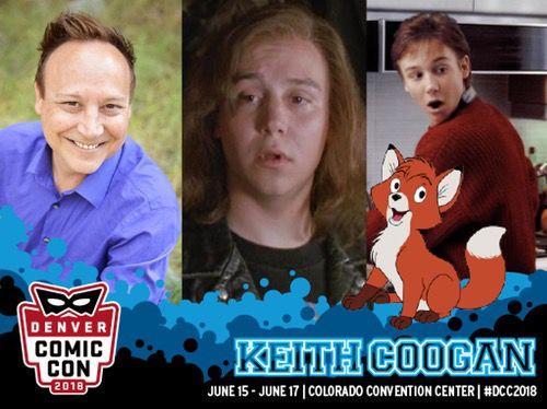 denver comic con keith coogan appearance