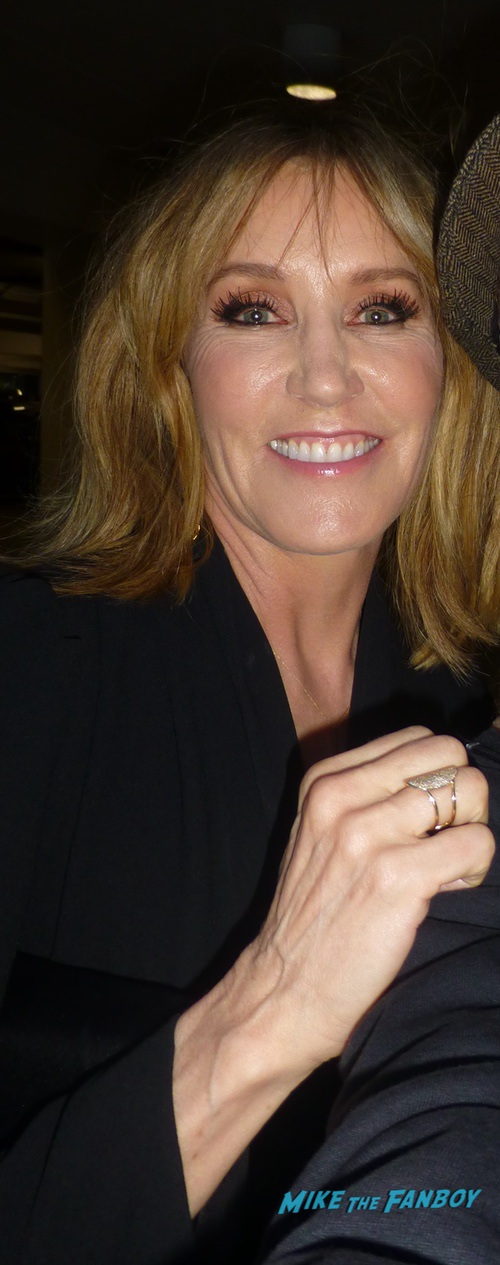 Felicity Huffman With Fans Signing Autographs 0000