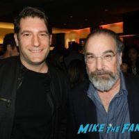 Homeland FYC Panel Mandy Patinkin with fans signing autographs 0000