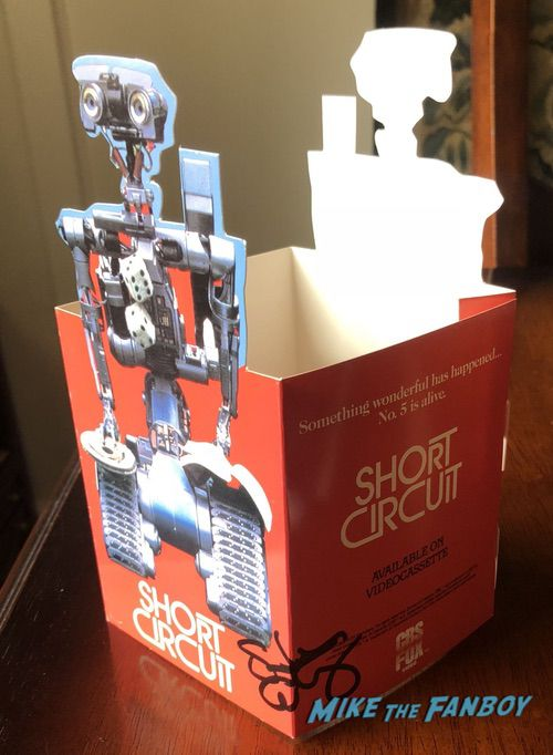 Short Circuit Counter Stand signed autograph Steve Guttenberg display