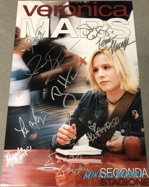 Steve Guttenberg signed autograph Veronica Mars season 2 poster