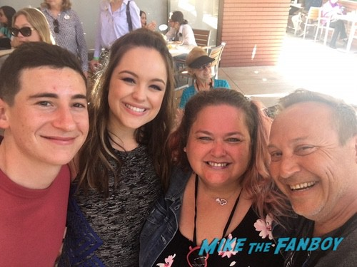 Sam Lerner with fans The Goldbergs FYC ABC Day Panel with fans 0009