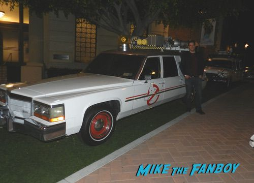 Ghostbusters prop car reboot ecto-1 sony lot