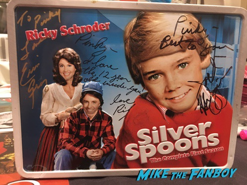 silver spoons signed autograph lunchbox Ricky Schroder