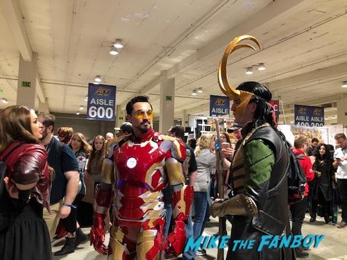 Tom Hiddleston Photo opp with fans ACe Comic Con recap 0010