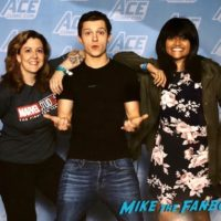 Tom Holland Photo opp with fans ACe Comic Con recap 0010