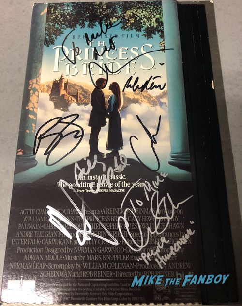 Billy Crystal Signed Autograph Princess Bride counter standee display