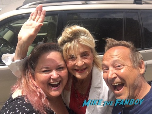 Concetta Tomei with fans Don't Tell Mom the Babysitter's Dead Reunion Keith Coogan 0001