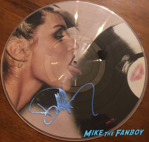 Debbie Harry Signed Autograph Blondie Picture Disc Parallel Lines