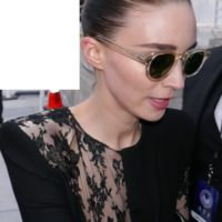 Rooney mara with fans signing autographs