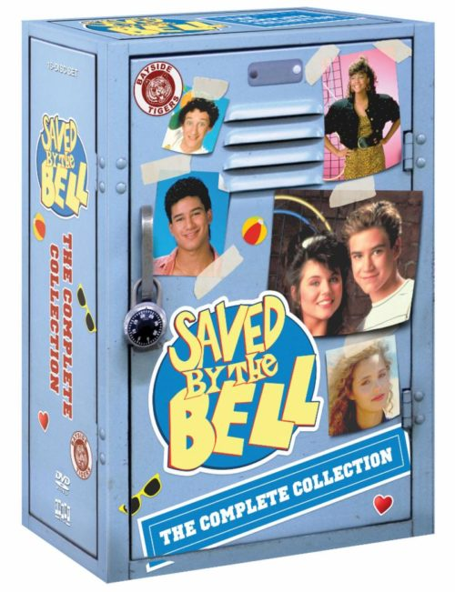 SAved by the bells complete collection dvd artwork cover